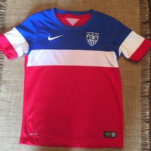 Authentic Nike US Soccer jersey